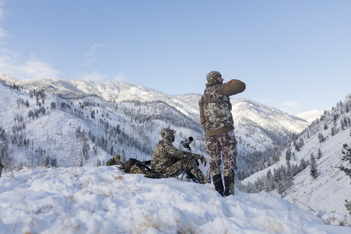 Starying warm backcountry hunting