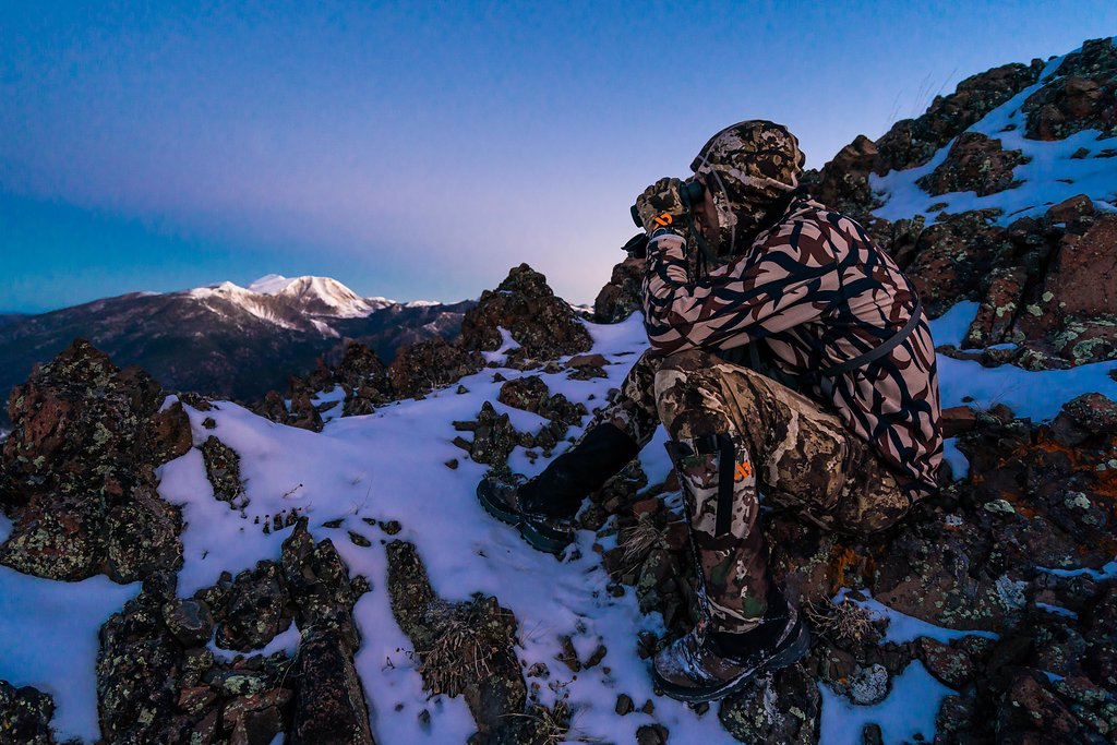 Backcountry hunting in cold temperatures