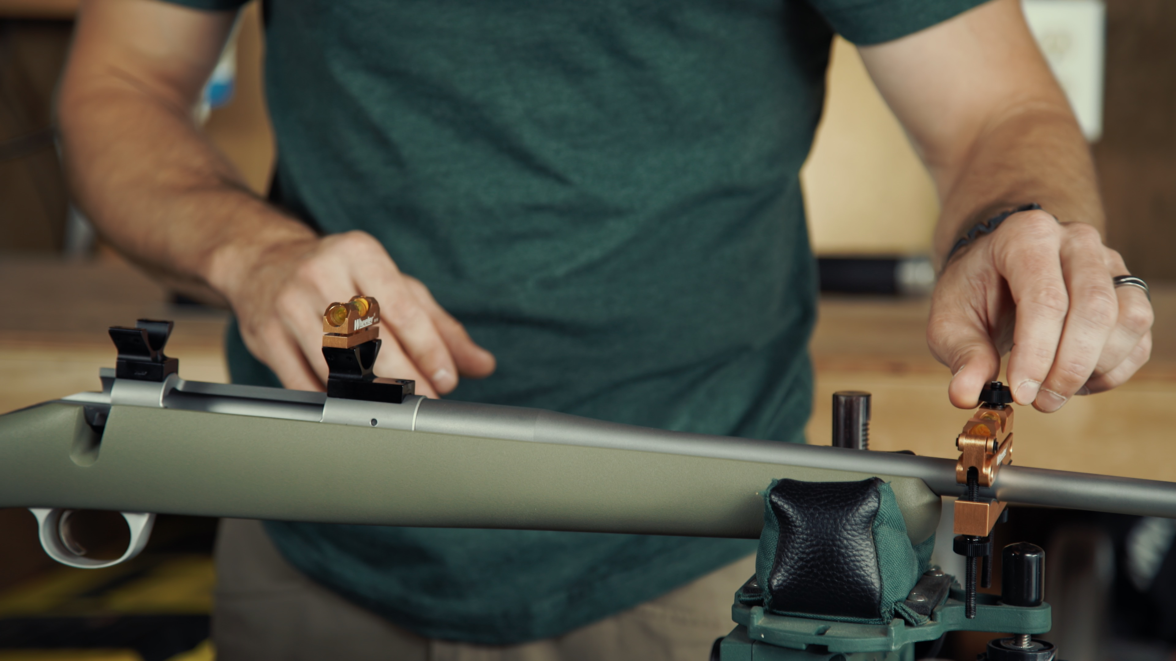 mounting a rifle scope